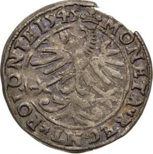 grosz, 1545, Zygmunt I Stary, 1506-1548, Kraków