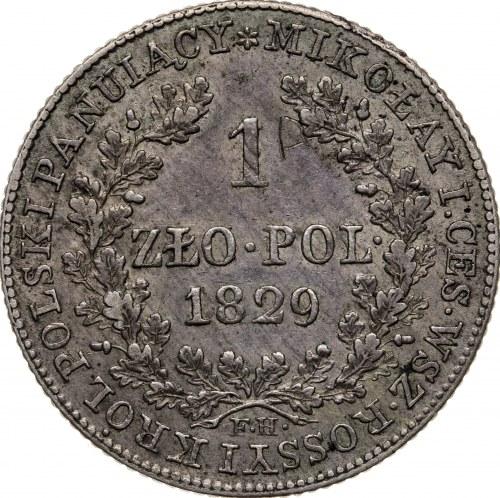 1 zł 1829, FH, Królestwo Polskie