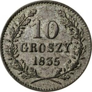 10 groszy 1835, Wolne Miasto Kraków