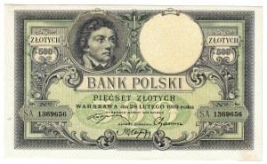 500 zł 1919,