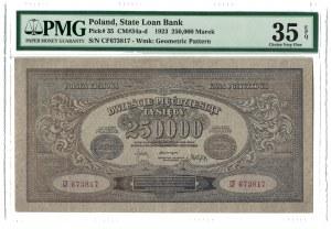 250 000 marek polskich 25.04.1923