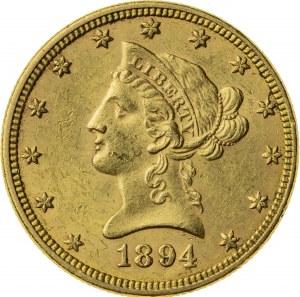 10 dolarów, 1894, (Filadelfia)