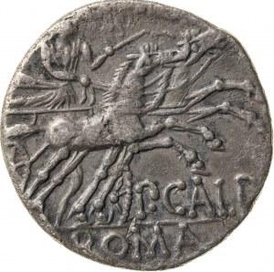 srebrny denar, 133 r. p.n.e., P. Calpunius, Republika Rzymska