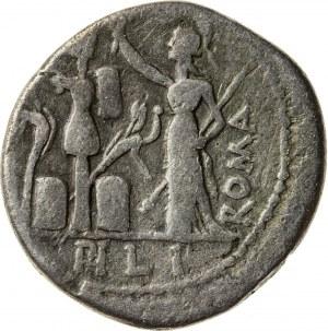 srebrny denar, 119 r. p.n.e., M. Furius L. f(ilius) Philus, Republika Rzymska