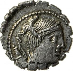 srebrny denar, 79 r. p.n.e., Ti. Claudius Ti. f(ilius), Republika Rzymska