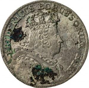 szóstak, 1755, Fryderyk II, Prusy, B (Breslau-Wrocław)