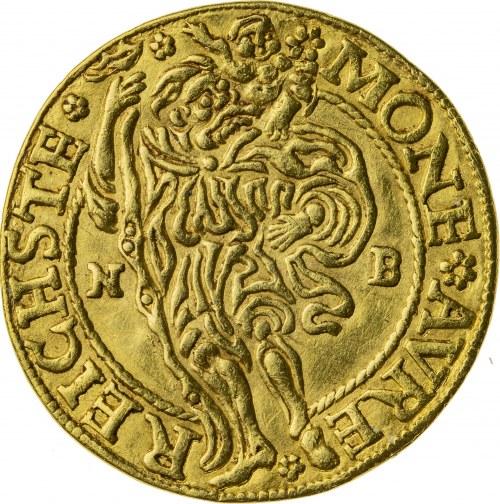 dukat, 1527, Karol I Podiebrad 1498 -1536, Złoty Stok