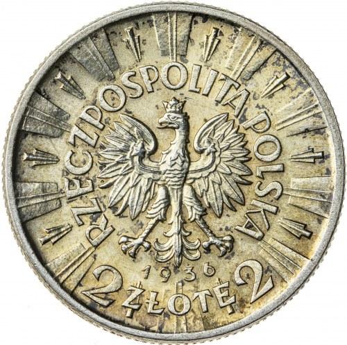 2 zł, 1936, II RP, Piłsudski