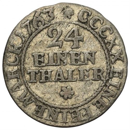 August III Sas, 1/24 Talara Lipsk 1763 EDC