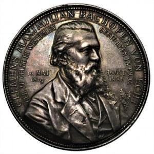 Austria, Clemens Bachofen von Echt, Medal 1886