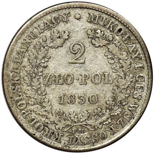 Królestwo Polskie, 2 złote Warszawa 1830 FH