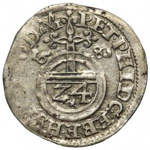 Niemcy, Biskupstwo Bamberg, Piotr Filip von Dernbach, Grosz 1683