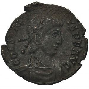 Cesarstwo Rzymskie, Konstancjusz II (324-361), Follis - rzadki