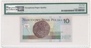 10 złotych 1994 - AA - 0000144 - PMG 68 EPQ - bardzo niski numer