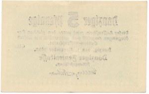 Gdańsk 5 fenigów 1923 Listopad - rzadszy