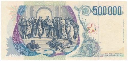 Italy 500.000 lire 1997 - AA -