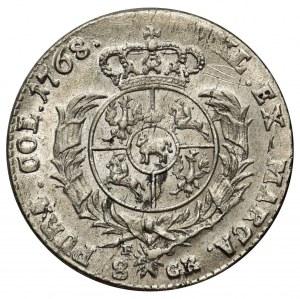 Poniatowski, Dwuzłotówka 1768 FS