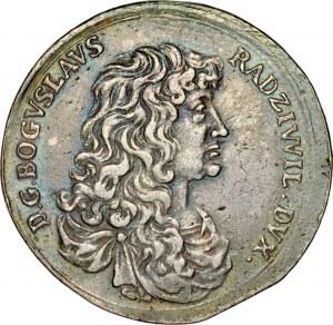 Medal magnacki 1669, wybity z powodu śmierci Bogusława Radziwiłła, RR.
