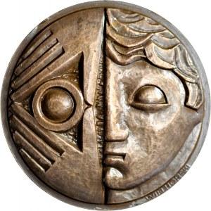 Medal autorstwa Wielhorskiego z 1957 roku wybity z okazji Międzynarodowej Wystawy Fotografii Artystycznej.