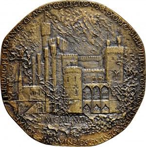 Medal odlewany z 1967 roku poświęcony Tytusowi Adamowi Działyńskiemu.