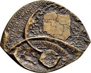 Medal odlewany z 1979 roku poświęcony IV Sesji Medalierskiej w Gorzowie.