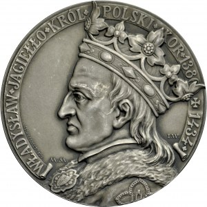 Medal autorstwa Ignacego Wróblewskiego i Michała Hankielewicza, wykonany przez Penin Ponceta w Lyonie w 1910 r., wybity z okazji 500-lecia bitwy pod Grunwaldem.