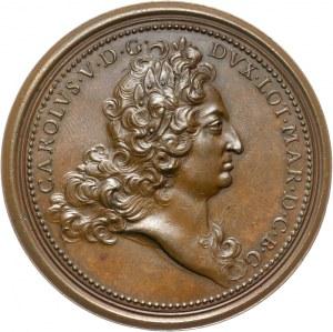 Medal bez daty ze suity Książąt Lotaryngii.