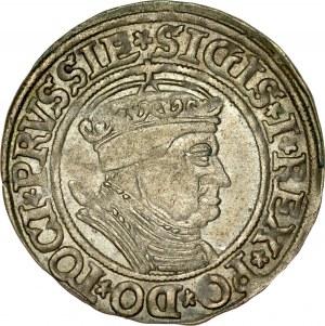 Zygmunt I Stary 1506-1548, Grosz 1535, Toruń.