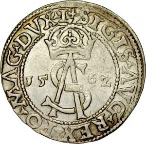 Zygmunt II August 1545-1572, Trojak 1562, Wilno.