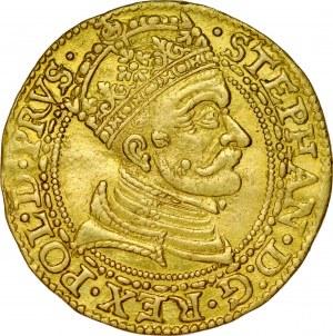 Stefan Batory 1576-1586, Dukat 1580, Gdańsk.