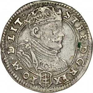 Stefan Batory 1576-1586, Szóstak 1585, Wilno.