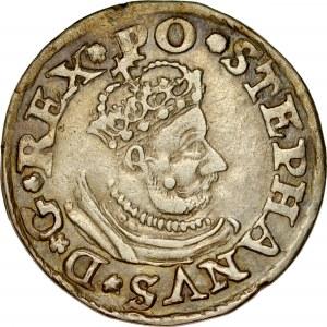 Stefan Batory 1576-1586, Trojak 1580, Olkusz.