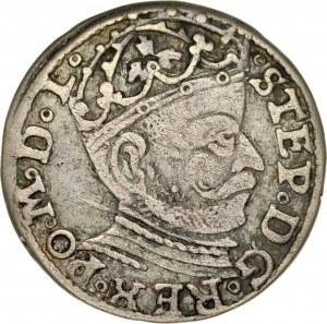 Stefan Batory 1576-1586, Trojak 1581, Ryga.