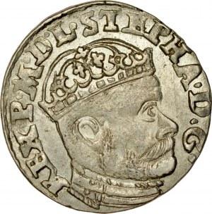 Stefan Batory 1576-1586, Trojak 1584, Olkusz, RR.