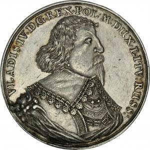 Władysław IV 1632-1648, Talar medalowy 1635 wagi półtora talara, Bydgoszcz.