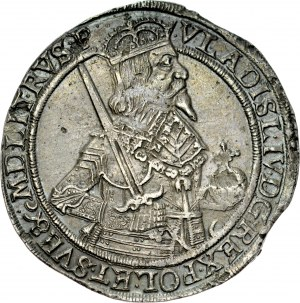 Władysław IV 1632-1648, Talar 1637, Toruń.