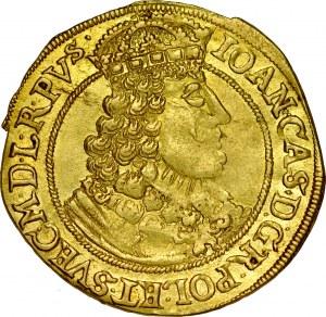 Jan II Kazimierz 1649-1668, Dukat 1649, Toruń, RR.