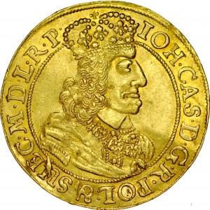 Jan II Kazimierz 1649-1668, Dukat 1660, Gdańsk.