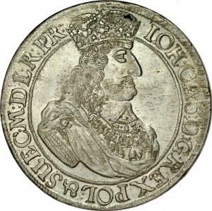 Jan II Kazimierz 1649-1668, Ort 1661, Gdańsk.