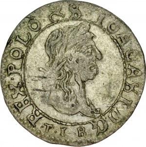 Jan II Kazimierz 1649-1668, Trojak 1665, Wilno.
