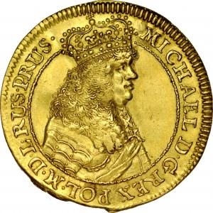 Michał Korybut Wiśniowiecki 1669-1673, Dukat 1670, Gdańsk.