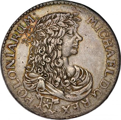 Michał Korybut Wiśniowiecki 1669-1673, Złotówka 1671, Bydgoszcz, RR.