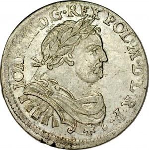Jan III Sobieski 1674-1696, Ort 1677, Bydgoszcz.