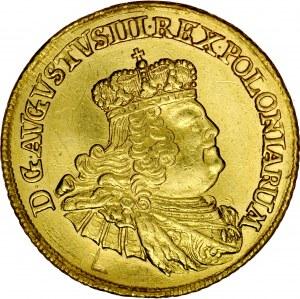 August III 1733-1763, Dukat 1756, Drezno.