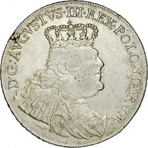 August III 1733-1763, Talar 1754, Lipsk.