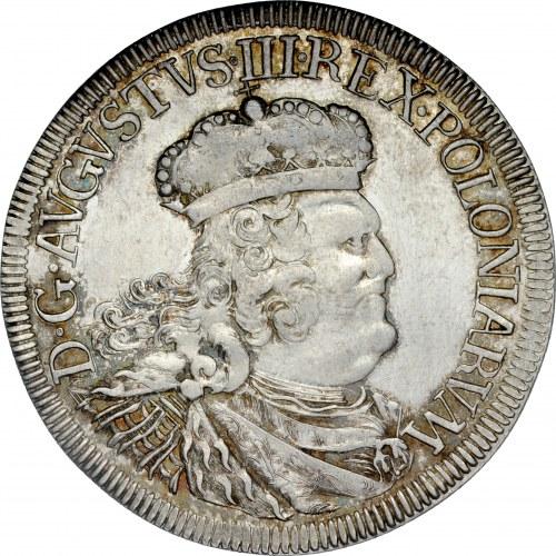 August III 1733-1763, Dwuzłotówka 1760, Gdańsk, RRR.