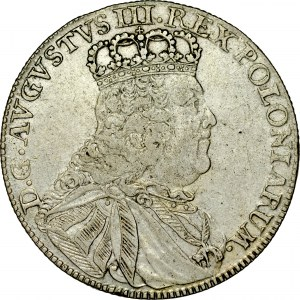August III 1733-1763, Tymf 1753, Lipsk.