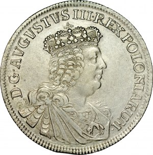 August III 1733-1763, 8 groszy 1753, Lipsk.