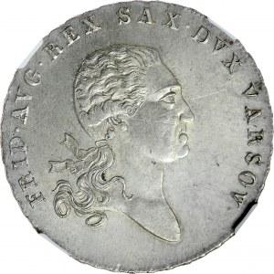 Księstwo Warszawskie, Talar 1814, Warszawa, RR.
