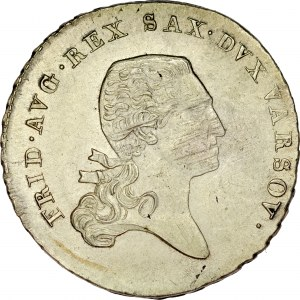 Księstwo Warszawskie, 1/6 talara 1812, Warszawa.